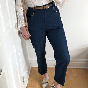 Vintage Ribcage High Rise Straight Leg Mom Jeans